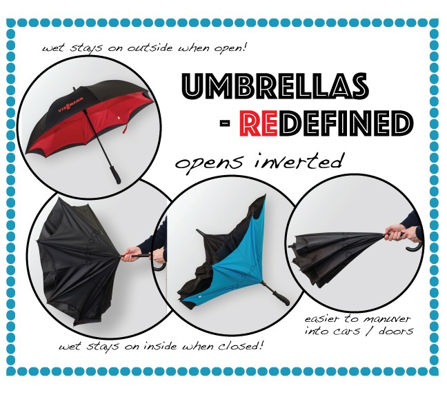 Featured Product: Reinvented the Umbrella