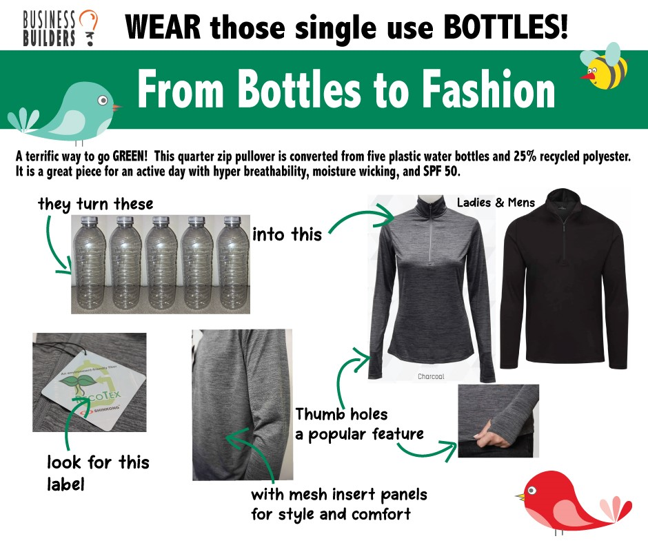 Wear Those Single Use Bottles!