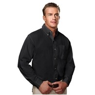 Men's Regency 100% Cotton Twill Long Sleeve Woven Shirt